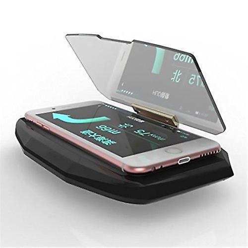 ONX3 Huawei Ascend Plus universele auto HUD houder beugel voor weergave van de mobiele telefoon GPS navigatie beeld Reflector Head Up Display Projector
