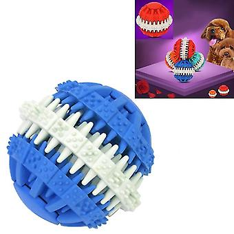 Dog Toy Balls for Pets Tooth Cleaning Chewing Toys Balls of Non-Toxic Soft Rubber , Large Size