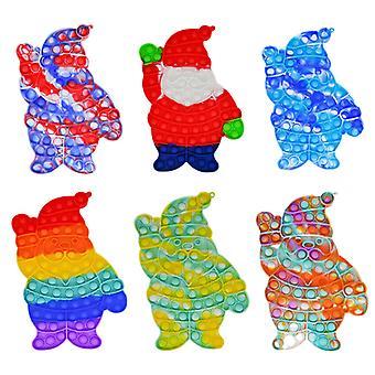28cm Anti Stress Fidget Zabawki Święty Mikołaj Sensory Zabawka Antystres