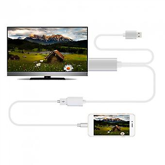 High Speed Turnning To Hdmi Mobile Phone Connecting Tv Cable Adapter 80cm