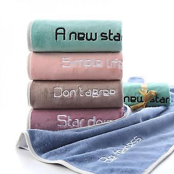 400g Edging Youth Pie Bath Towel 70*140 Absorbent Towel Daily Gift Set Manufacturer Wholesale