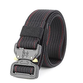 New cobra buckle tactical belt male army belt(Khaki)