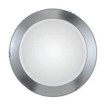 Kolarz MOON - Lifestyle Simple Flush Ceiling Light Chrome, 3x E27