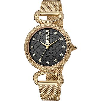Just Cavalli Lady Animalier JC1L148M0235 - Stainless Steel Female Analogue
