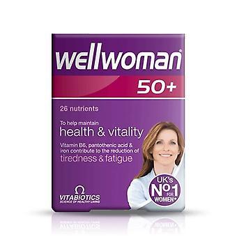 Vitabiotics Wellwoman 50+ Tablets - Vitamins & Minerals - Pack of 30