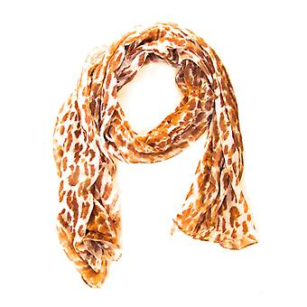 Halsduk med Leopardmotiv