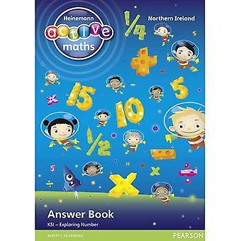 Heinemann Active Maths NI KS1 Exploring Number Answer Book (Heinemann Active Maths for NI)