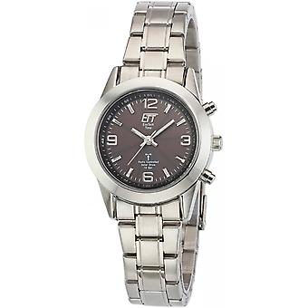ONE (Eco Tech Time) Silver Stainless Steel ELS-11269-21M Women's Watch