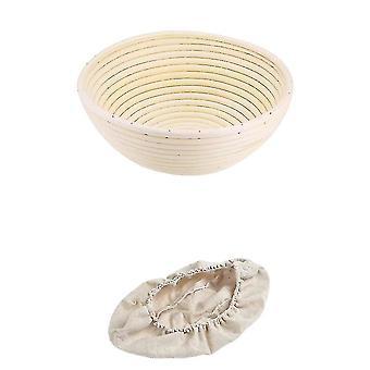Baskets handmade bohemian rattan wicker food storage baskets 25x8.5Cm