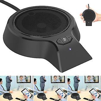 Microphones mini usb microphone condenser stand desktop studio recording mic for pc laptop