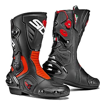 Sidi Vertigo 2 Black RED FLO Boots Special CE