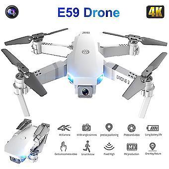 2021 Rc drone photograp uav profesional quadrocopter e59 z kamerą 4k składany na stałej wysokości