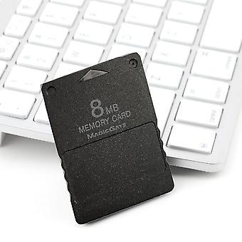 עיצוב קומפקטי 8mb כרטיס זיכרון מתאים Ps2 פלייסטיישן 2 Ps 2 שחור