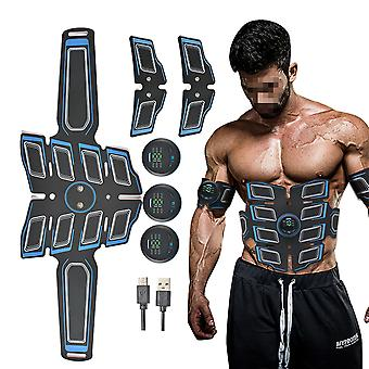 Homemiyn Abs Stimulator, Muscle Toner - Abs Stimulating Belt - Dispositivo de entrenamiento para músculos - Fitness Equipment