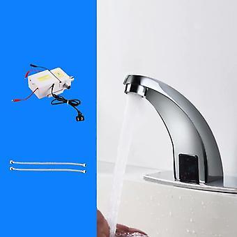 Kran med ac/dc koppar typ enkel kylning, lämplig för badrum och toalett (fyra stycken)