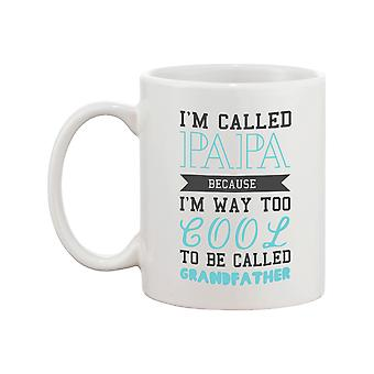 Cool To Be Called Grandfather Funny Mug PaPa Cup Christmas Gift for Grandpa