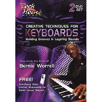 Creative Techniques for Keyboards [DVD] USA import