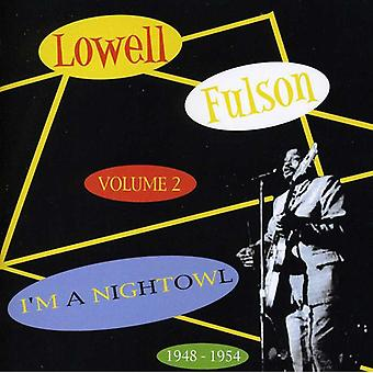 Lowell Fulson - Lowell Fulson: Vol. 2-Ik ben een nacht uil [CD] USA import