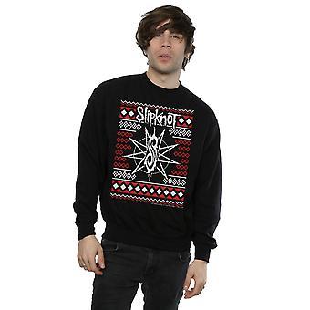 Logo de Noël Sweatshirt Slipknot masculine