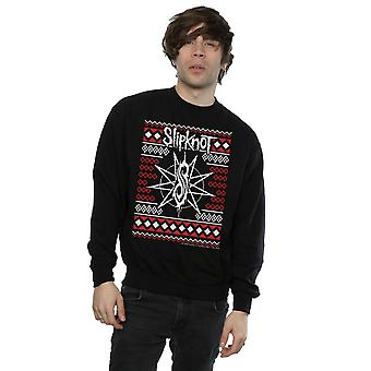 Slipknot Men's Logo Christmas Sweatshirt
