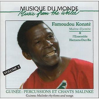 Famoudou Konate - Famoudou Konate: Vol. 2-Malinke Rhythms & Songs [CD] USA import