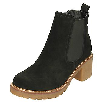 Dames tot aarde Suede Leather Ankle Boots F50798