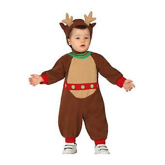 Costumi bambino Baby renna di Natale costume