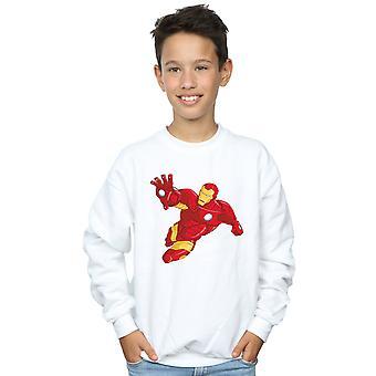 Marvel Boys Iron Man Simple Sweatshirt