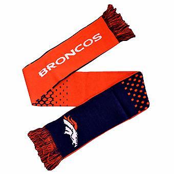 Denver Broncos officielle NFL Crest Design Fade écharpe