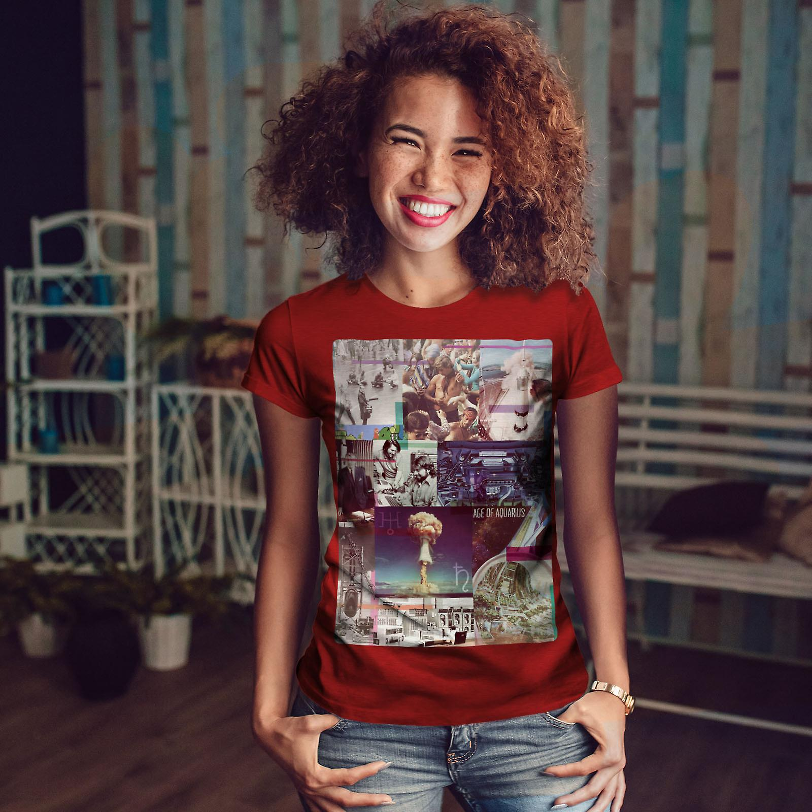 Espace bombe mer RedT-shirt Fashion femme | Wellcoda