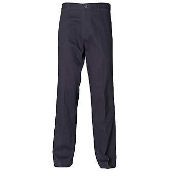 Henbury Mens Teflon Coated Flat Front Chino Trousers