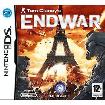 Tom Clancys End War (Nintendo DS) - Nouveau