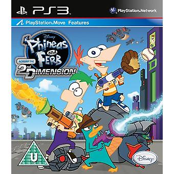 Phineas and Ferb Across the 2nd Dimension (PS3) - New