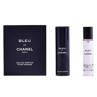 Chanel Bleu EDP spray refillable 3 X 20 ml para homens