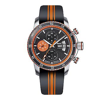 Ingersoll men's watch wristwatch automatic bison N0. 74 IN1717OR