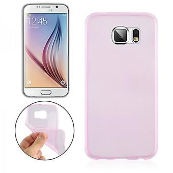 Silikoncase pink 0,3 mm ultra thin case for Samsung Galaxy S6 G920 G920F