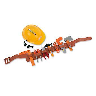 Travailleur de la construction set 12-tlgHelm accessoire de ceinture outils