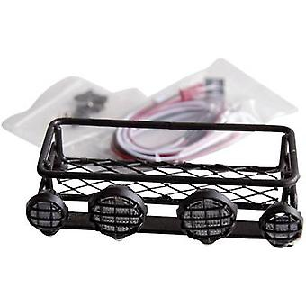 Amewi Roof rack (4 LEDs) Orange