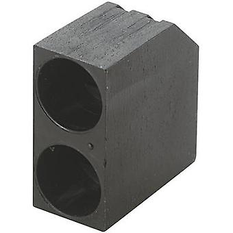 KSS PLD2-5C LED spacer 2x zwart geschikt voor LED 5 mm