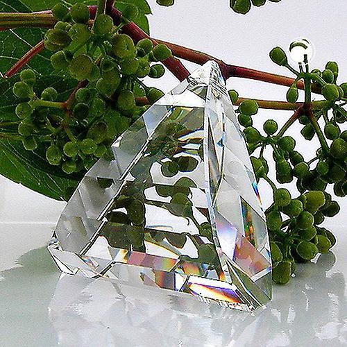 Kettenanhänger Bleikristall Kristall Glas Anhänger, Dreieck gewölbt