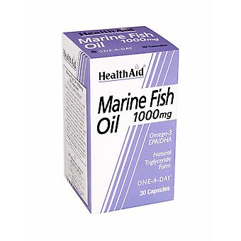 Health Aid Marine Fish Oil 1000mg, 30 Capsules