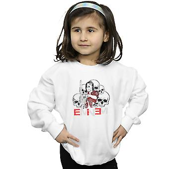Eminem Girls Chainsaw Skulls Sweatshirt