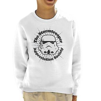 Original Stormtrooper Appreciation Society Kid's Sweatshirt