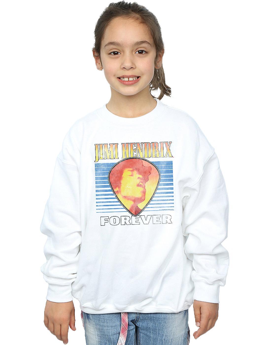 Jimi Hendrix Girls Retro Forever Sweatshirt