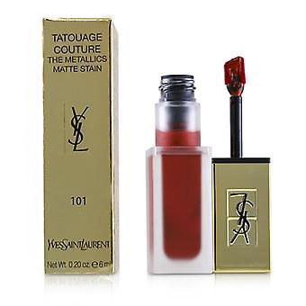 Yves Saint Laurent Tatouage Couture Metallics - # 101 Chrome Red Clash - 6ml/0,2 oz