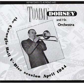 Tommy Dorsey & His Orchestra - Carnegie Hall V-Disc Session [CD] USA import