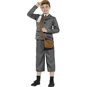 WW2 Evacuee Boy Costume, with jacket, trousers