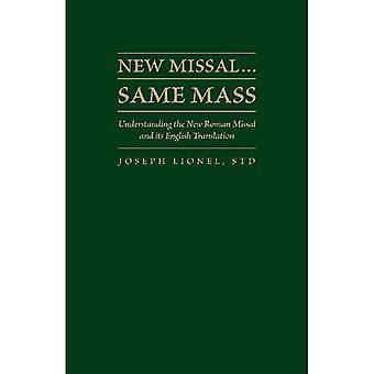 New Missal. Same Mass