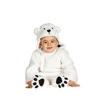 Småbørn Polar Bear Fancy kjole kostume