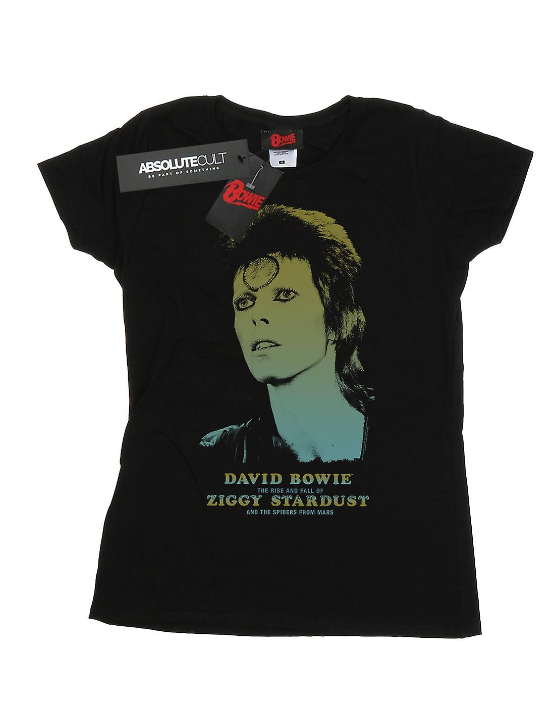 David Bowie Women's Ziggy Gradient T-Shirt